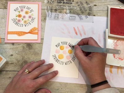 How to make SUPER SIMPLE Watercolor Flowers