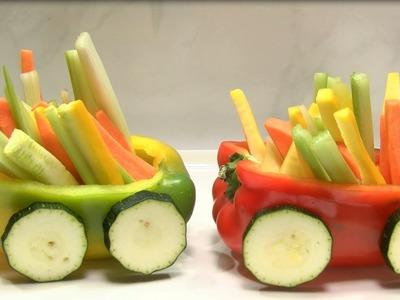 How to Make Train in Vegetables- HogarTv By Juan Gonzalo Angel