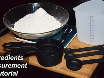 How to Measure Ingredients for Recipes - Make Your Baking Perfect by Kitchen With Amna