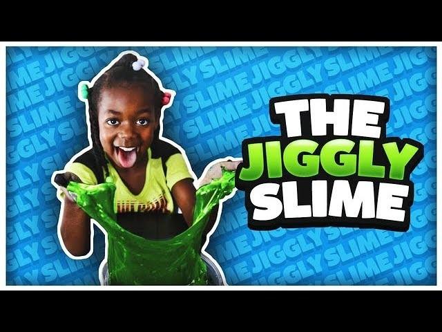 JIGGLY SLIME | DIY SUPER JIGGLY & SQAUSHY | HOW TO MAKE JIGGLY SIME!!