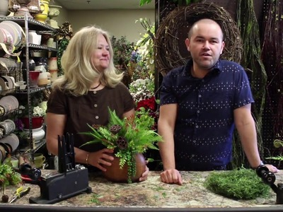 Learn How To Make A Fern Arrangement. Floral Arrangement Hacks and Tips