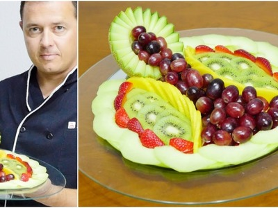 Make a DELICIOUS DESSERT with FRUIT | Carving Fruit | FRUIT DECORATION