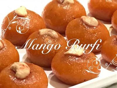 Mango Coconut Burfi |How To Make Easy Mango Fudge|Mango Peda|Quick and easy Mango Ladoo -Recipe Book