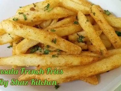 Masala French Fries_(Iftaar)Ramadan Recipe(In Urdu.Hindi)How To Make Restaurant Style Masala Fries