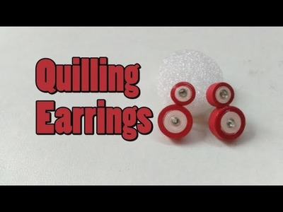 Paper Earrings    How to make Quilling Earrings    Quilling Earrings     Quilling Art