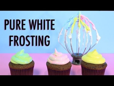 PURE WHITE FROSTING RECIPE How to make 7 Minute Marshmallow Icing - YouTube