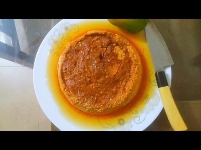 ম্যাংগো পুডিং.আমের পুডিং||Mango Egg Pudding Recipe||How to Make BangladeshI Mango pudding||