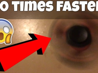 (WARNING) HOW TO MAKE YOUR FIDGET SPINNER 100 TIMES FASTER! HAND SPINNER DIY TRICK (FIDGET SPINNERS)