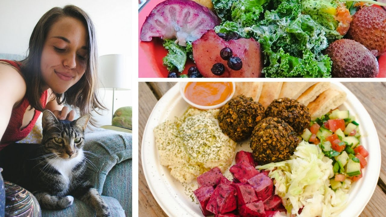 WHAT I ATE & DID TODAY. How to Make Vegan Friends