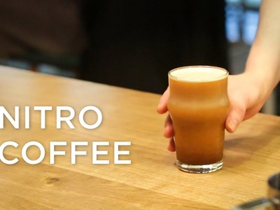 What is Nitro Coffee and how they make it at Happy Baristas? | ECT Weekly #018