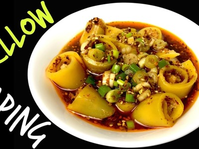 YELLOW LAPING RECIPE | How To Make LAPING | LAPHING | Nepali Street Food | Yummy Food World ???? 96