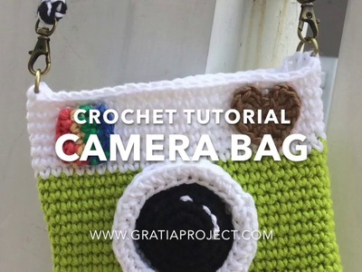 Camera Bag Crochet Tutorial