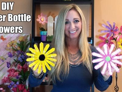 DIY Water Bottle Flowers - How to make Water Bottle Flowers