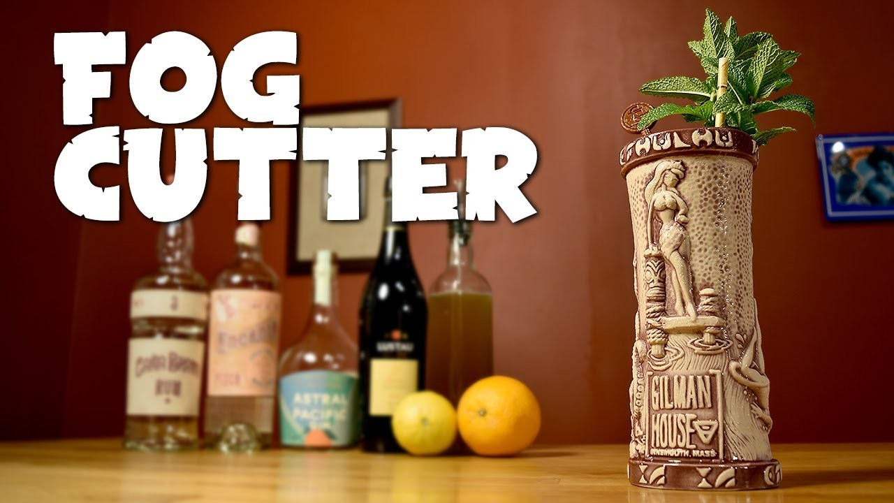 Fog Cutter - How to Make the Smuggler's Cove Version of the Famous Tiki Cocktail
