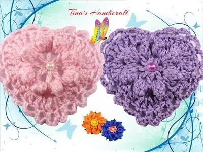 Heart crochet stitch No 34