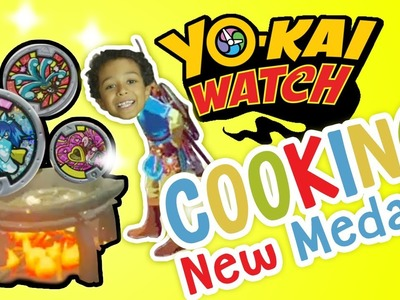 How To Cook NEW YO-KAI WATCH Medals! ;) ✳ TottyChoCho