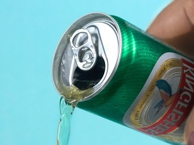 How to Drink Beer at The Beach, Simple Life Hack, Trick