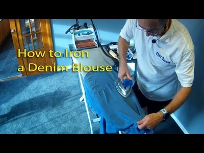 How to Iron a Cotton Blouse - DrCleanUK