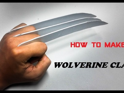 How to Made a Wolverine Claws (Logan)