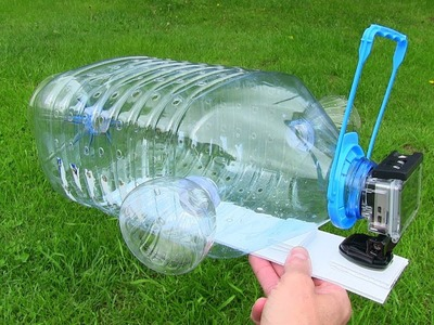 How To Make a Fish Trap with Plastic Bottle and Action Camera