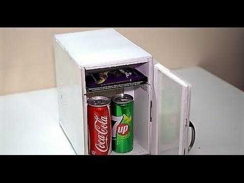 How to make a mini fridge at home