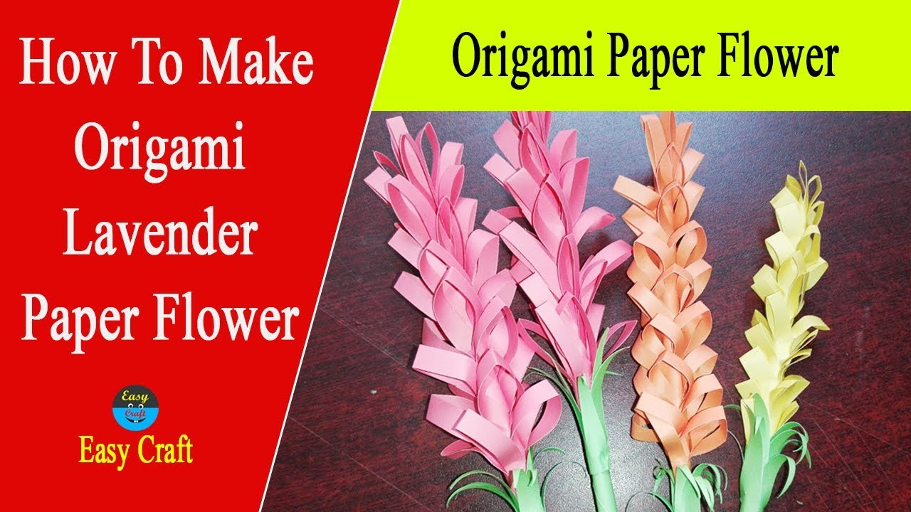 How to make a origami paper flower easy origami for How to make a paper rose origami