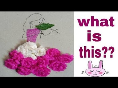 How to make a paper collage art for kids.