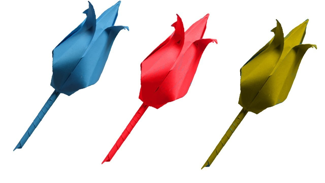 How To Make A Paper Flowers Easy Step By Step Lotus Flower My