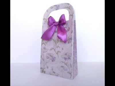 How to Make a Paper Gift Bag.