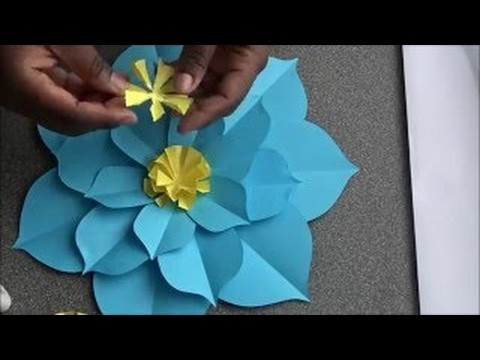 How To Make A pointy petals Flower