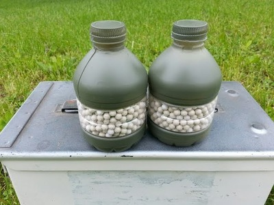 How To Make Airsoft. Paintball Grenades - Neutralizer Hand Grenades