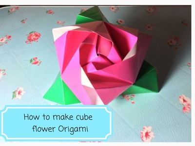 Magic How To Make An Magic Origami Rose Cube Diy Fold Origami How