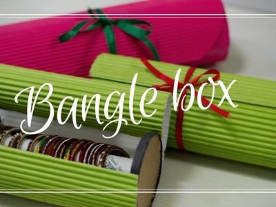 How to make bangle box at home   bangle storage box   cookie box tutorial