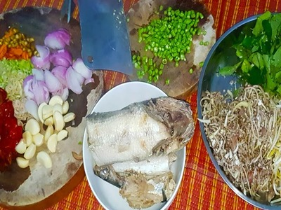 How To Make Cambodian Healthy Fish Gravy For Fresh Noodles - Different Food Recipe