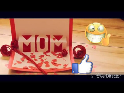 How to Make - Easy Greeting Card For Mother's Day By {Entertainment Guru}