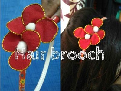 How to make Hair Brooch ||Art n you-24||