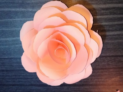 How to Make Paper Real Roses || Easy Way TO Make Origami Rose || Origami Fun Studio