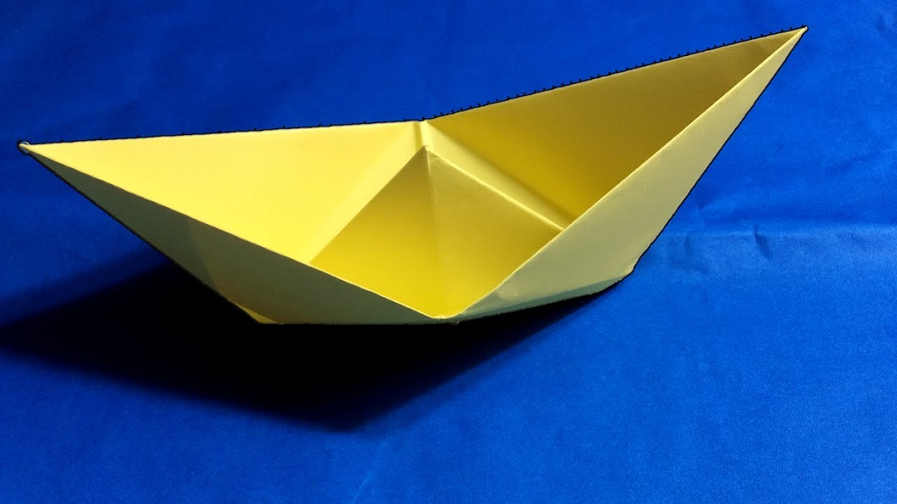 origami boat how to make easy paper boat