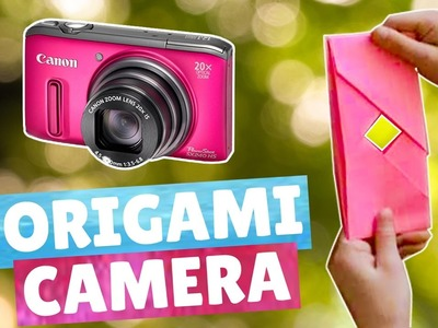 Origami camera - Easy | How to make an origami camera | Origami Dollar Bill camera - Paper Kawaii