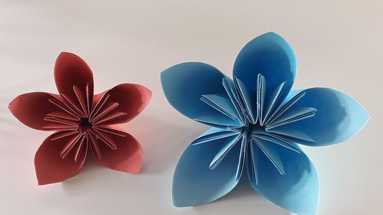 Origami Kusudama Flower Pdf Flowers Healthy