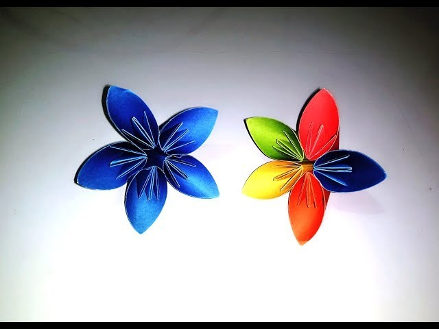 Origami Kusudama Flower, How to make a Kusudama Paper
