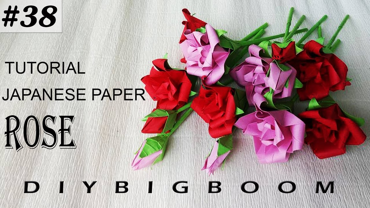 Paper Flowers Tutorial 38 How To Make Paper Flowers Easy Step By