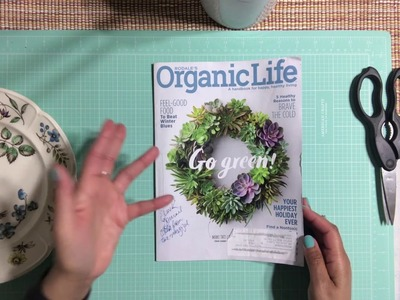 Part 1 - How To Junk Journal With One Magazine