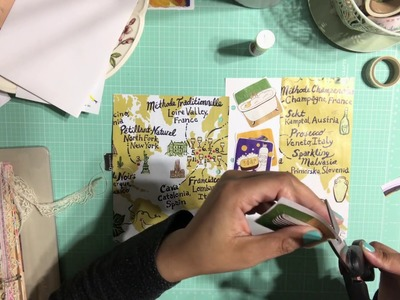 Part 2 - How To Junk Journal With Me Using Magazine Pages
