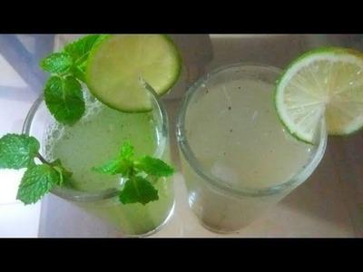 দুই রকমের লেবুর সরবত  ইফতার স্পেশাল  How to Make Bangladeshi Lemon juice Recipe  