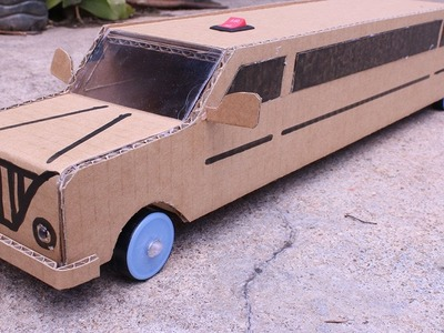 Wow! Amazing RC electric limo car | How to make a limo car