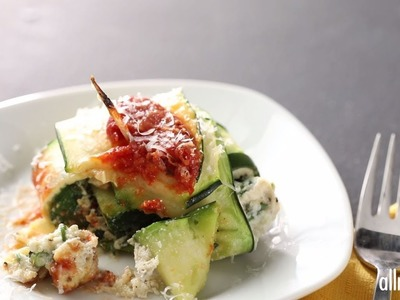 Zoodle Recipes - How to Make Zavioli with Spinach and Ricotta