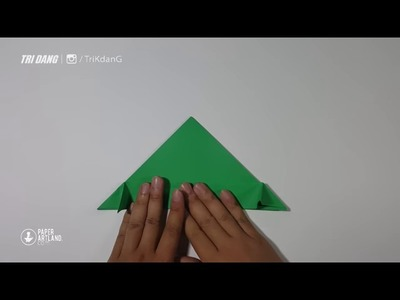 BEST ORIGAMI PAPER JET   How to make a paper airplane model for Kids   F 14 Tomcat   YouTube
