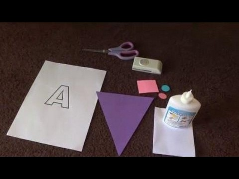 birthday party paper diy name banner for birthday party