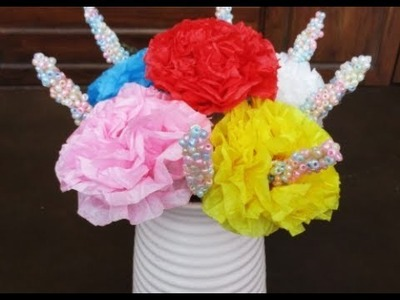 DIY : #182 Colorful FLOWER - Home Decoration ❤